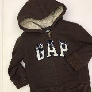 ⭐️ Baby Gap fleece-lined hoodie